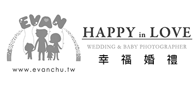 Evan 幸福婚禮 Logo